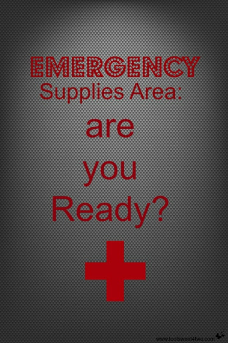 Emergency Supplies Area are you Ready 750x1128