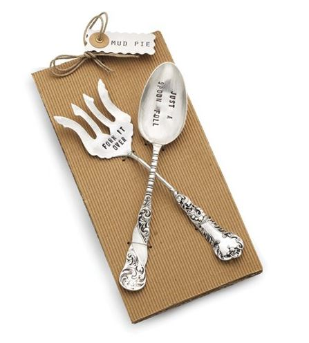 Mud Pie Fork It Over on Amazon