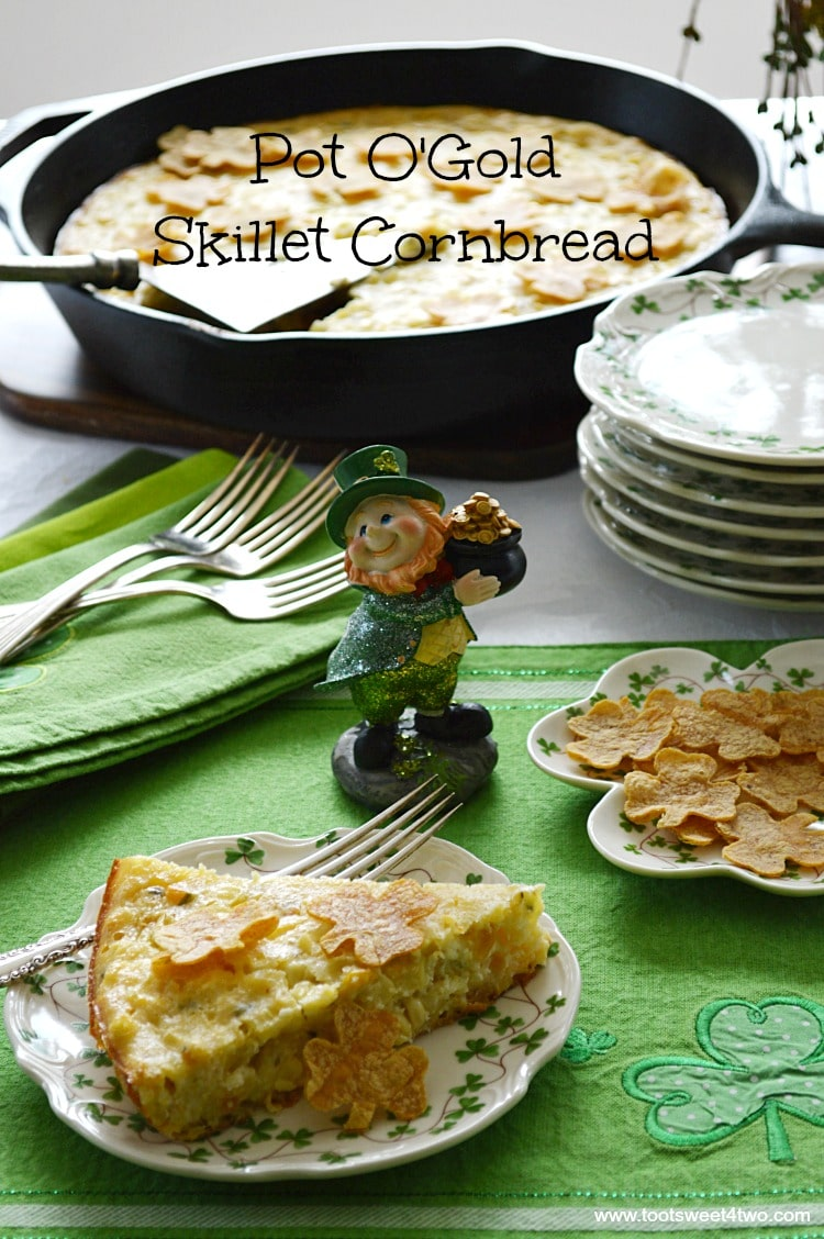 Pot O'Gold Skillet Cornbread - both sweet and savory