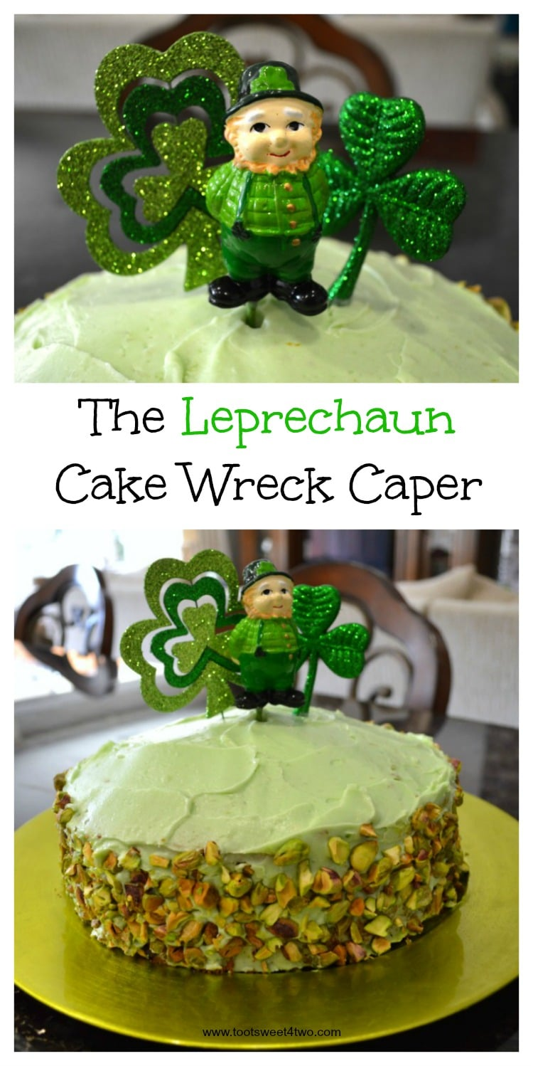 The Leprechaun Cake Wreck Caper collage