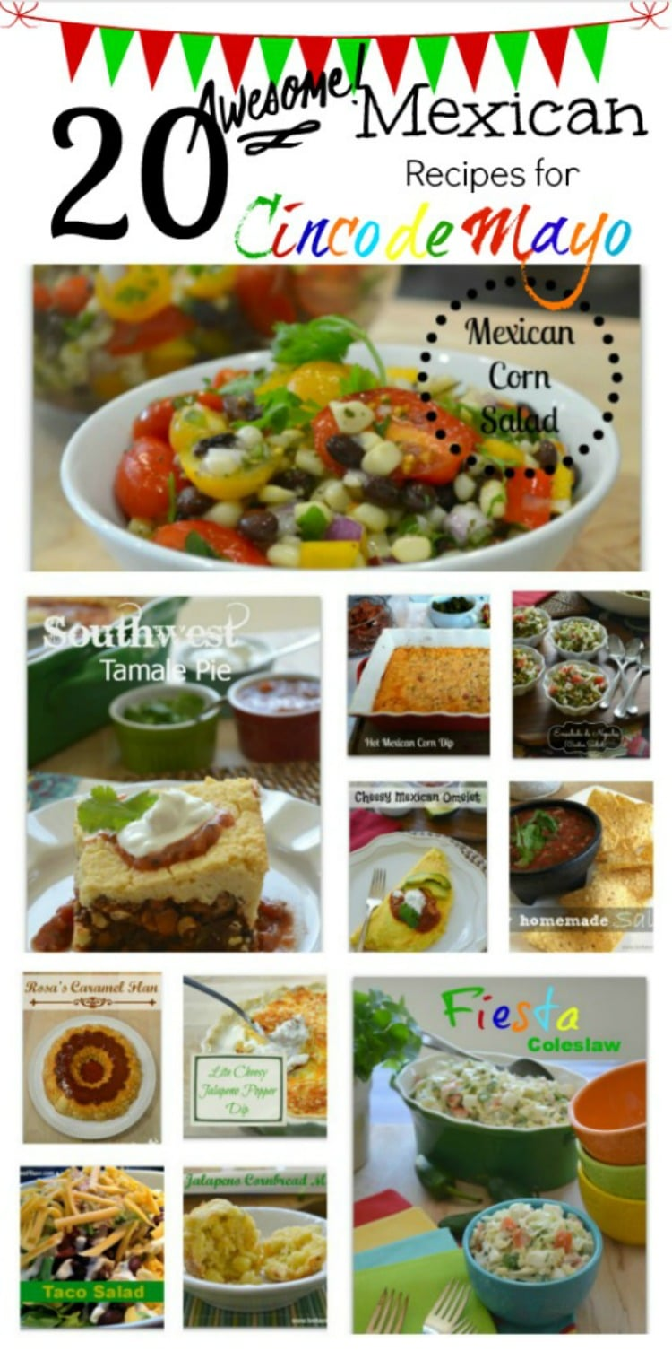 20 Awesome Mexican Recipes for Cinco de Mayo 750x1516