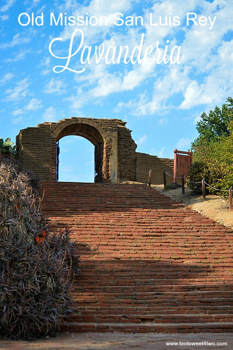 Old Mission San Luis Rey Lavanderia cover
