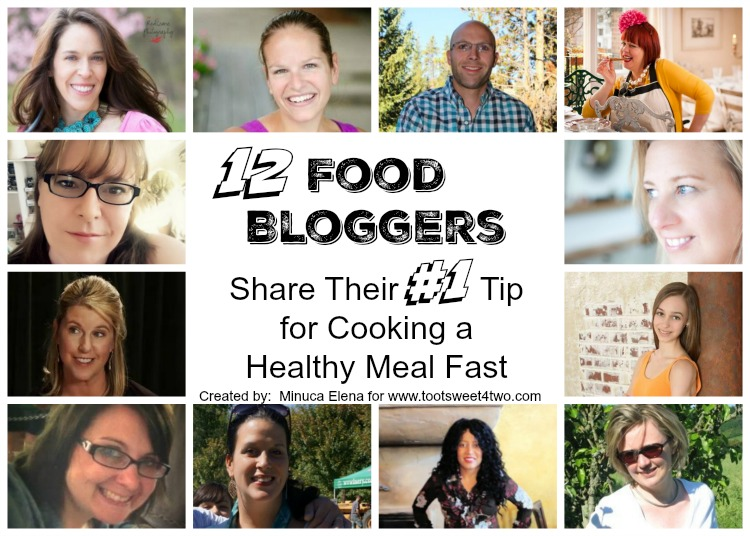 12 Food Bloggers Share Their #1 Tip Collage