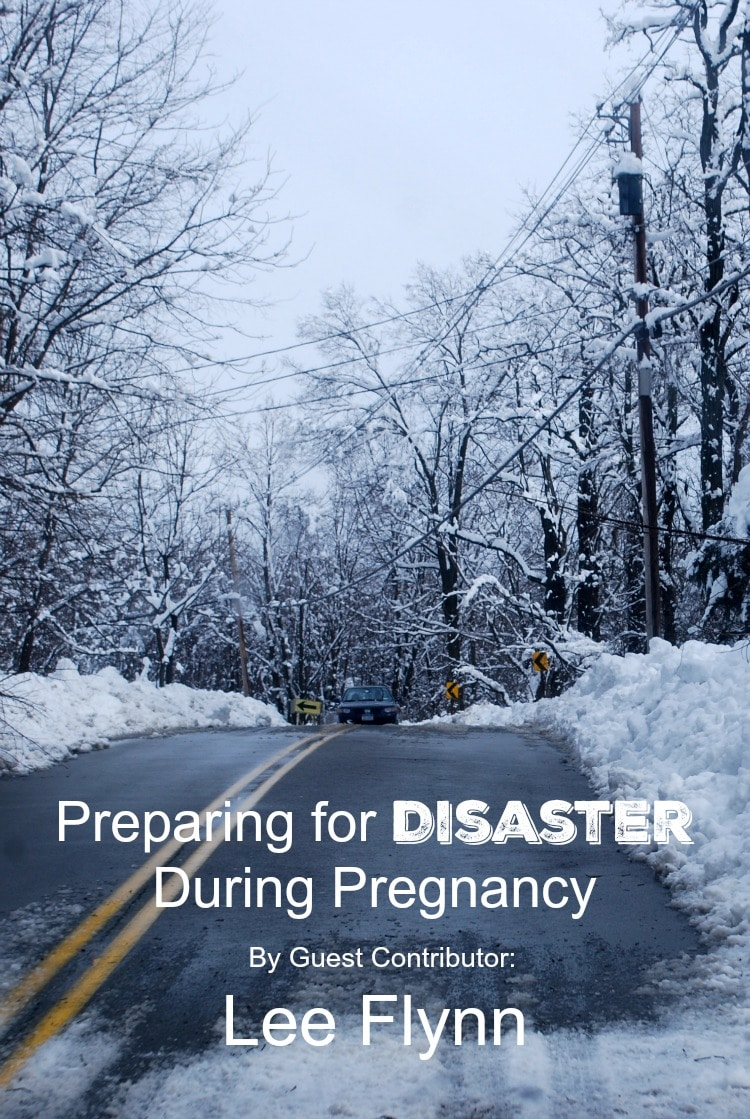 Preparing for Disaster During Pregnancy cover