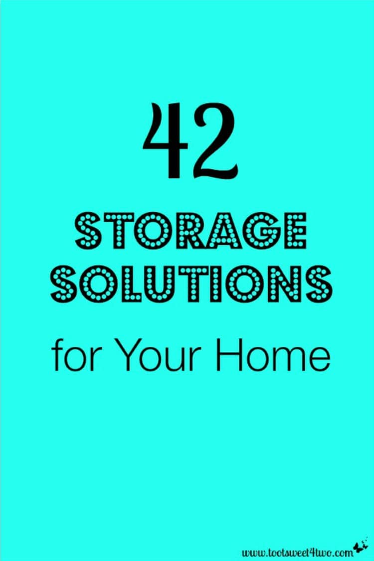 42 Storage Solutions for Your Home