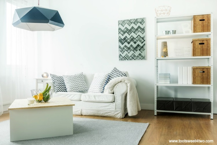 Living Room Update Ideas how to update your outdated living room {guest post} - toot sweet