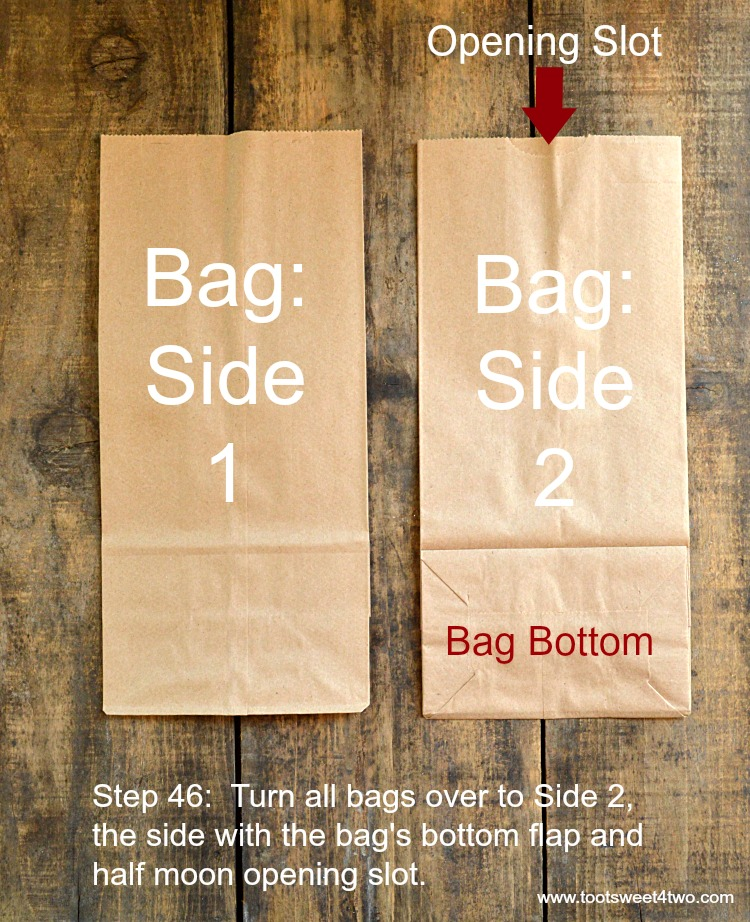 Step 46 - Find Bag's Right Side