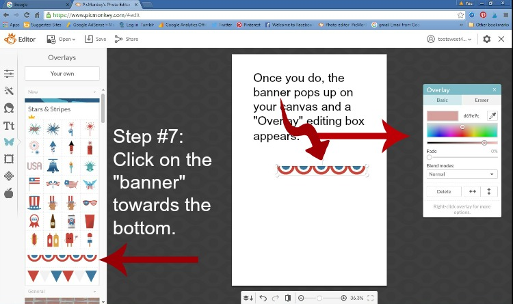 Step 7 - Click on Banner