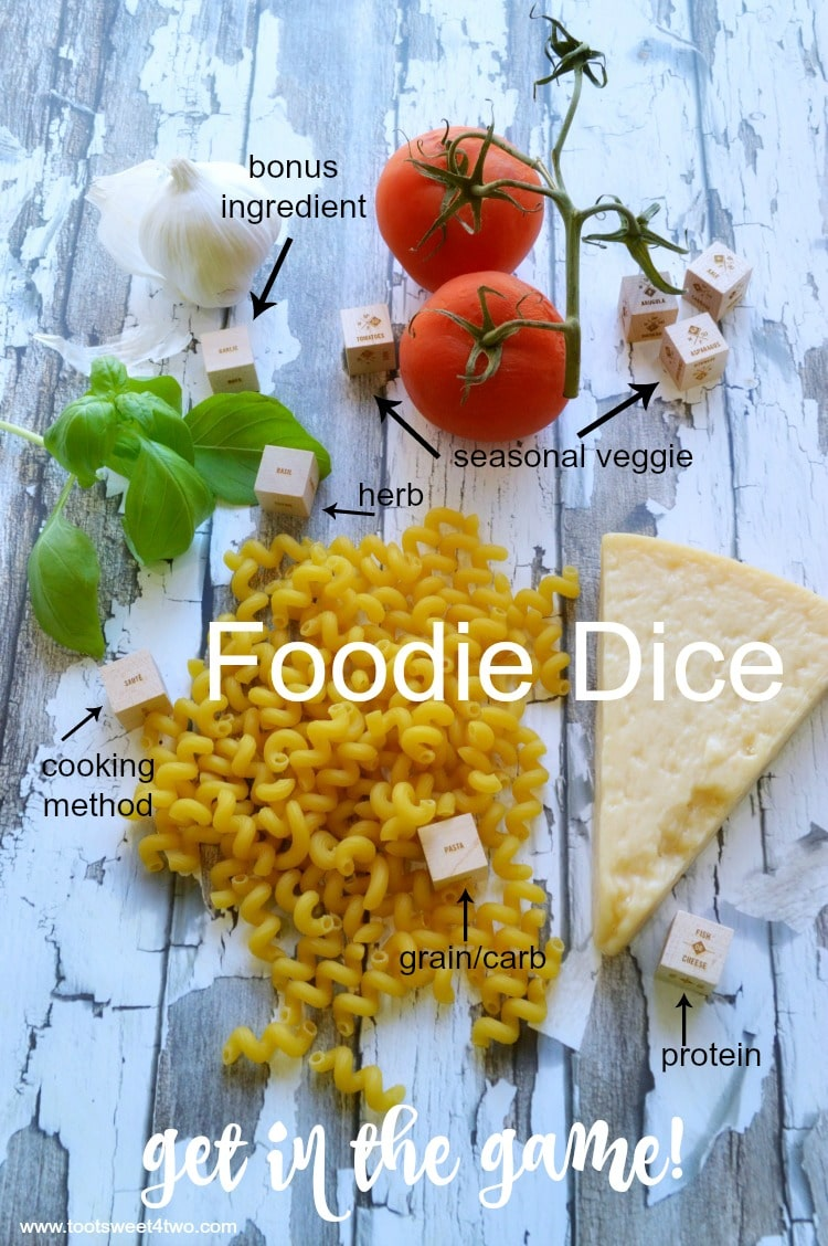 Foodie Dice - get in the game