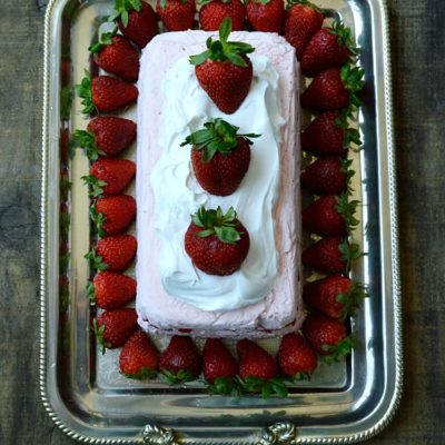 Strawberry Icebox Cheesecake
