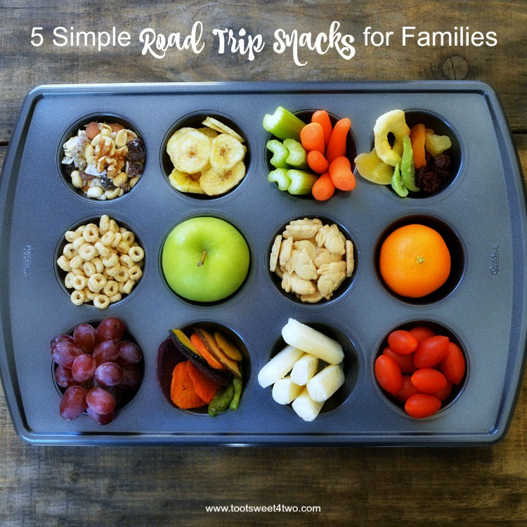 When traveling with your family, so many great options are available for road trip snacks. And, just because you are on vacation doesn't mean that you have to spend loads of money on expensive, unhealthy snacks. But, what are the best road trip snacks for kids? By taking the time to plan ahead, you can discover and make healthy, easy and delicious road trip snacks your family will appreciate, that won't break the bank and are easy to pack. | www.tootsweet4two.com