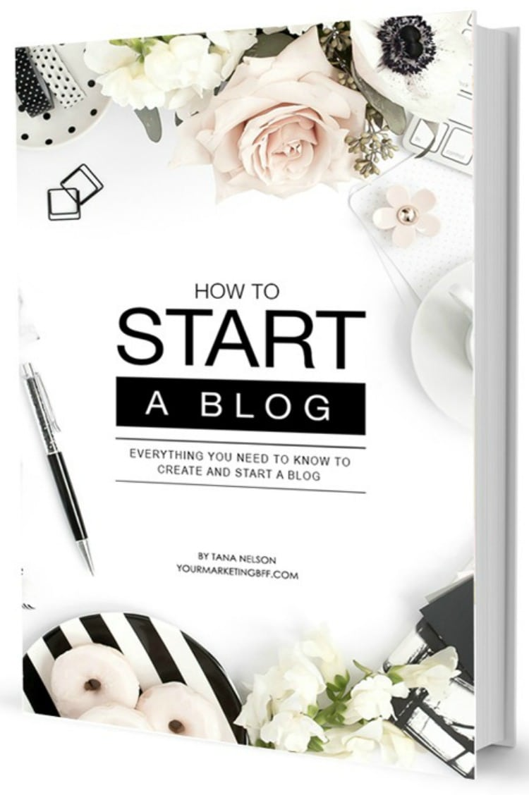 Starting a blog? Here's everything you need to know to start a blog in one easy-to-follow handbook. With step-by-step instructions, this book is the ONE to have! Written by marketing expert and blogger, Tana Nelson, this book saves you hours of time by providing you all the information you need in one place. Whether you are starting a blog for personal growth or starting a blog to make money, this eBook is for you! | www.tootsweet4two.com