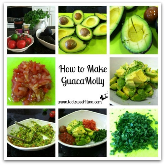 Guacamole Tutorial and ingredients