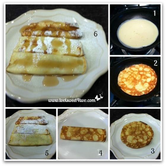Carole's Swedish Pancakes - cooking pancake no. 2