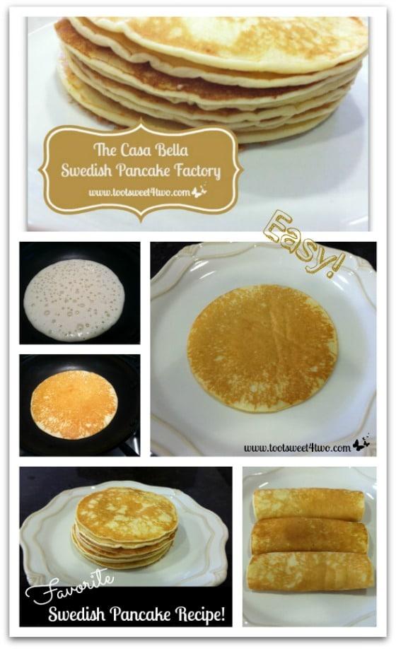 Casa Bella Swedish Pancake Factory Pinterest