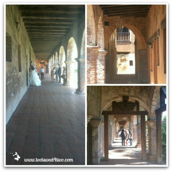 Corridors and Archways - Mission San Juan Capistrano