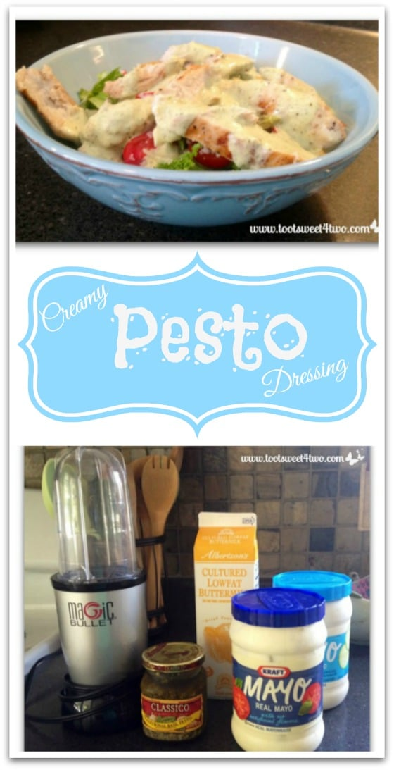 Creamy Pesto Dressing Pinterest