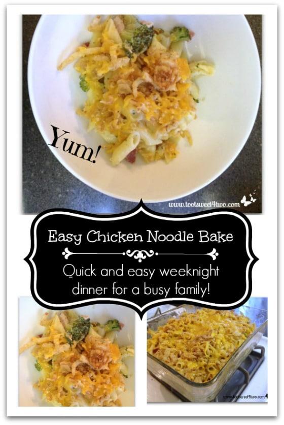 Easy Chicken Noodle Bake Pinterest