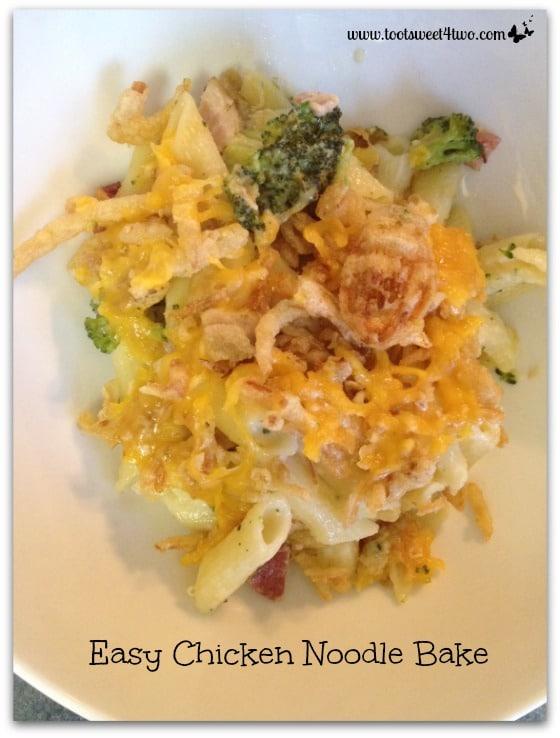 Easy Chicken Noodle Bake