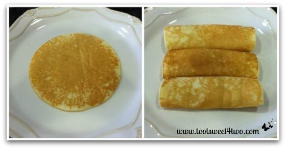 Gail's Swedish Pancakes plated