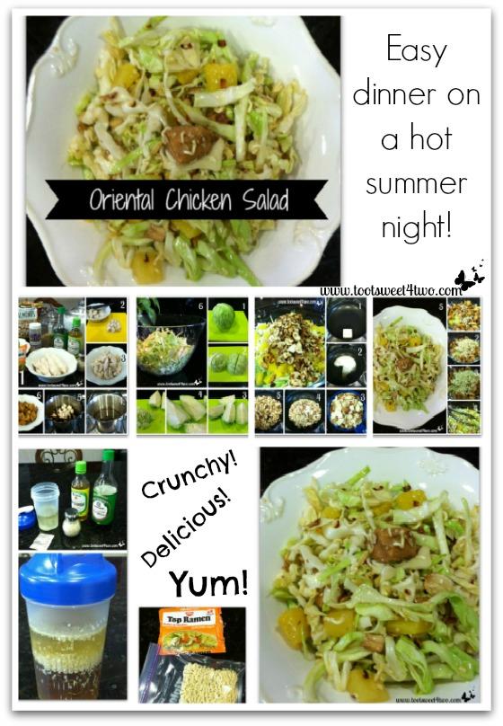 Oriental Chicken Salad Pinterest