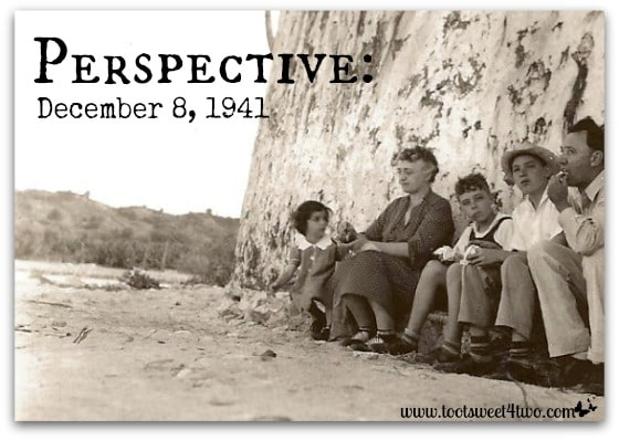 Perspective December 8, 1941- About Page