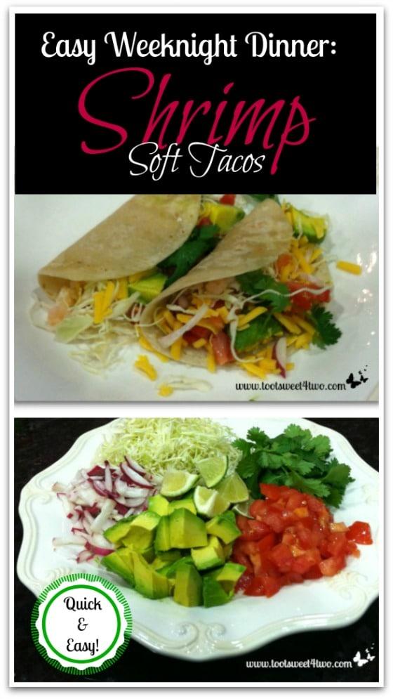 Shrimp Soft Tacos Pinterest