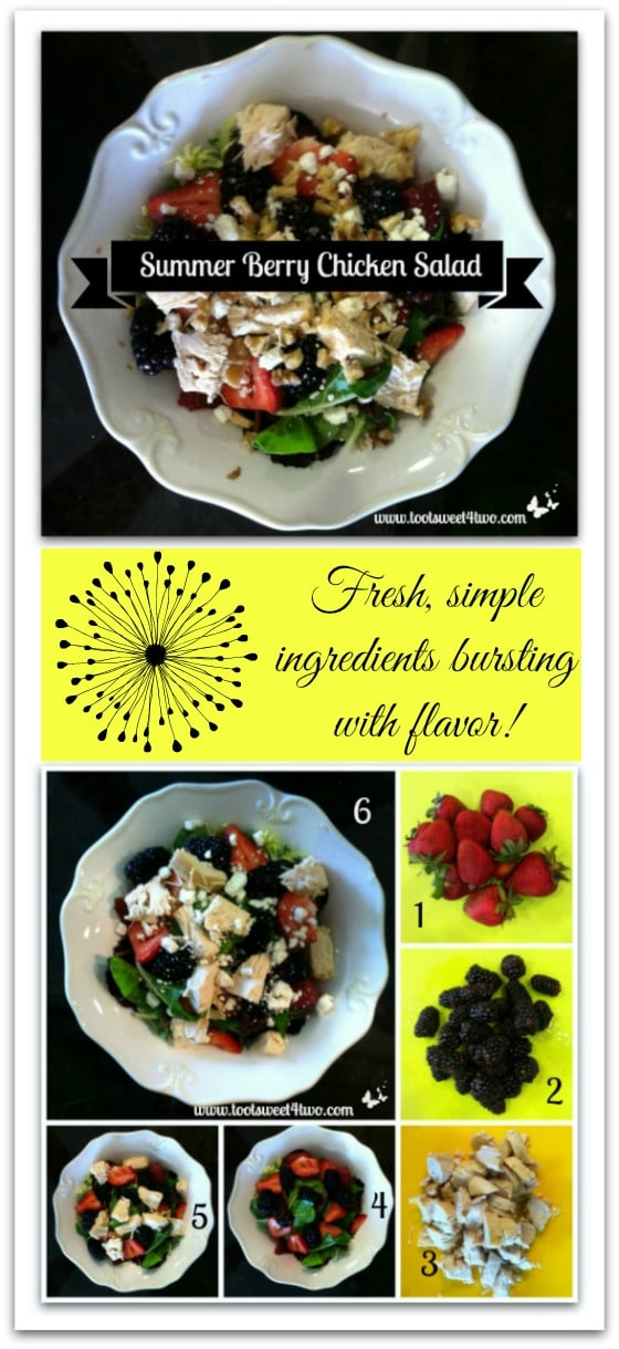 Summer Berry Chicken Salad Pinterest