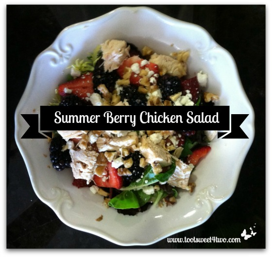 Summer Berry Chicken Salad