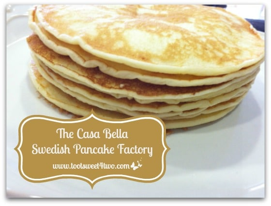 The Casa Bella Swedish Pancake Factory cover