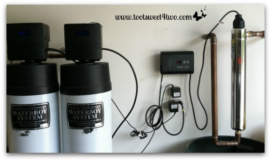 Water Filtration System in our garage - The Wishing Well