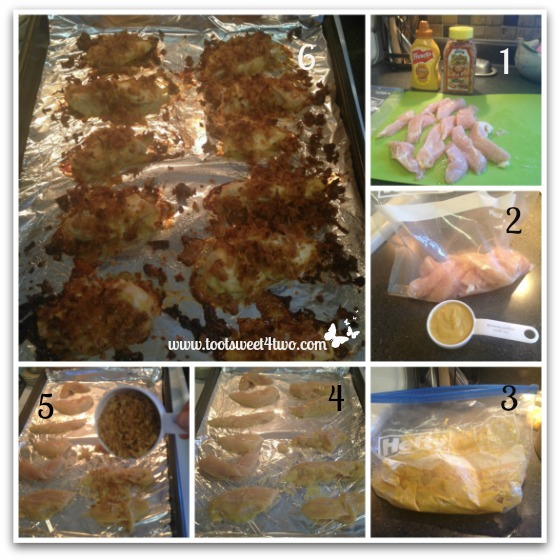 Crunchy Onion Honey Mustard Chicken Strips tutorial