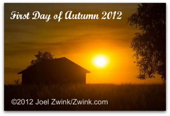First Day of Autumn 2012