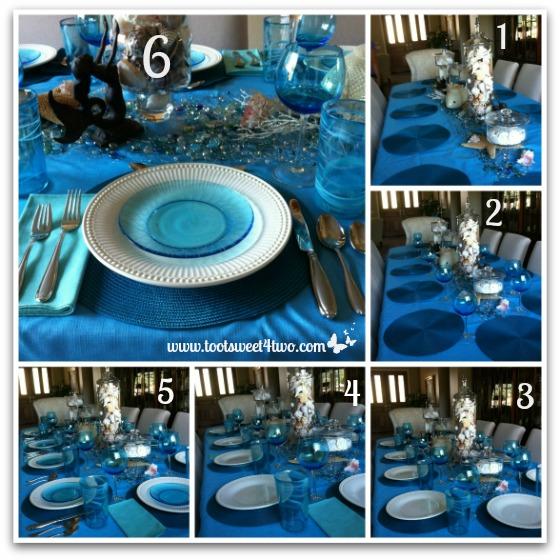 Setting Samantha's table