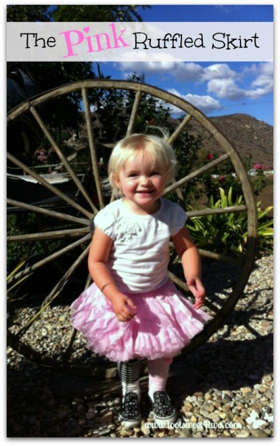 The Pink Ruffled Skirt Pinterest