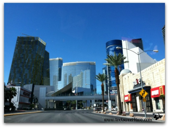 Arriving in Las Vegas