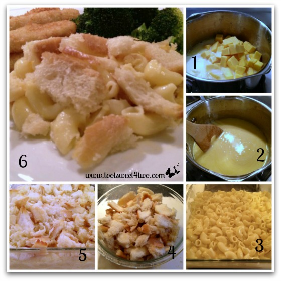 Baked Mac and Cheese tutorial