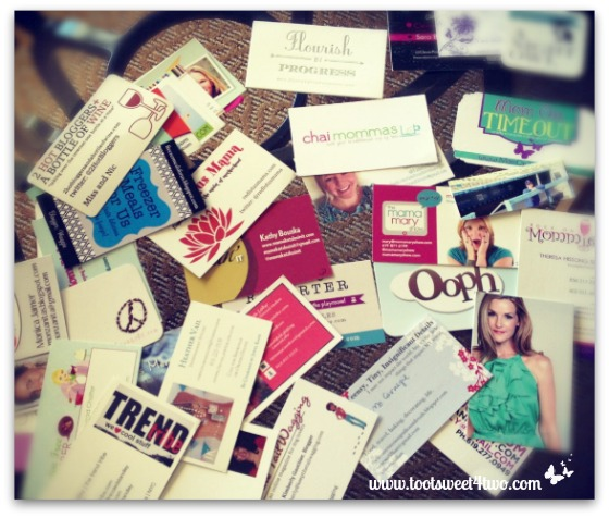Bloggy Boot Camp business cards