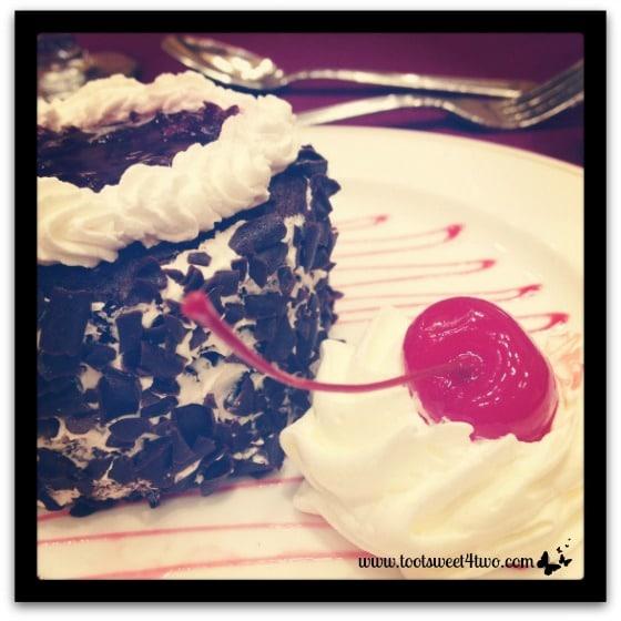 Bloggy Boot Camp dessert