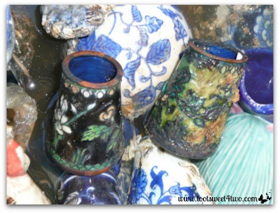 Ceramic pieces and shards