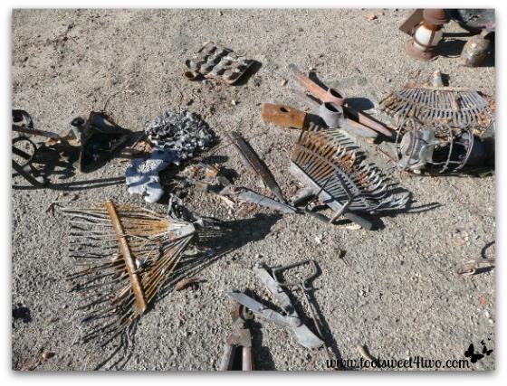 Garden tools with no handles