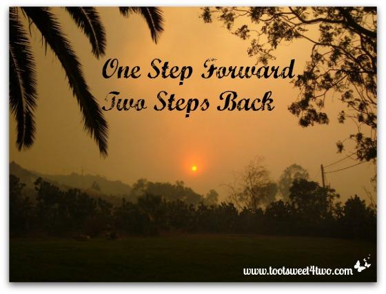 One Step Forward, Two Steps Back
