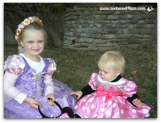 The Princesses P - Halloween 2010