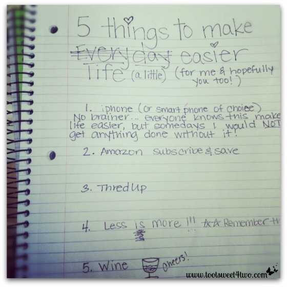 5 things cover