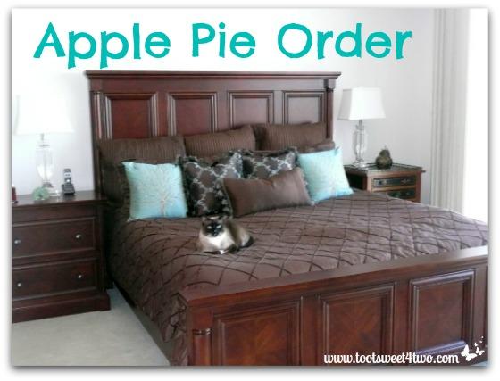 Apple Pie Order cover