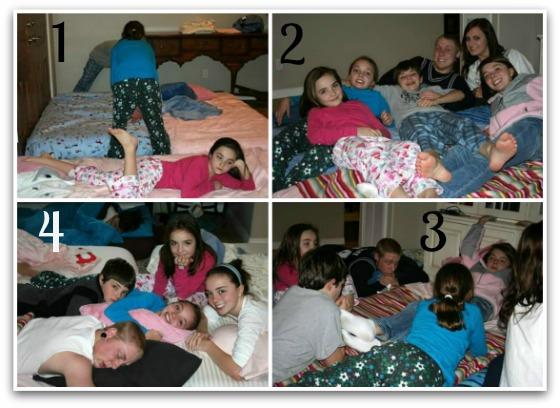 Christmas Slumber Party - December 2008