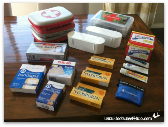 What's in Your First Aid Kit? - Toot Sweet 4 Two