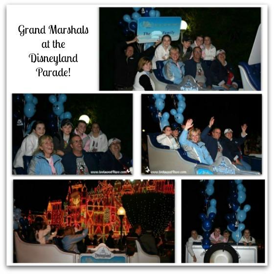 Grand Marshals at the Disneyland Parade - December 2008