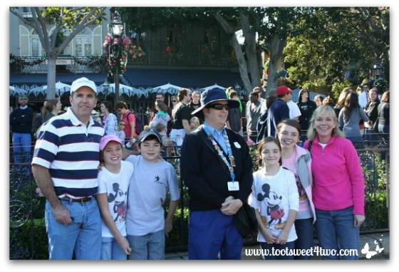 Group shot with the Disneyland ambassador
