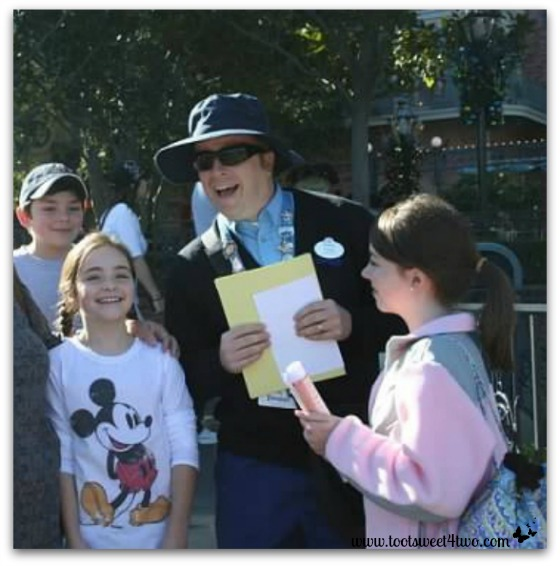 How would you like to be Grand Marshalls in the Disneyland Parade